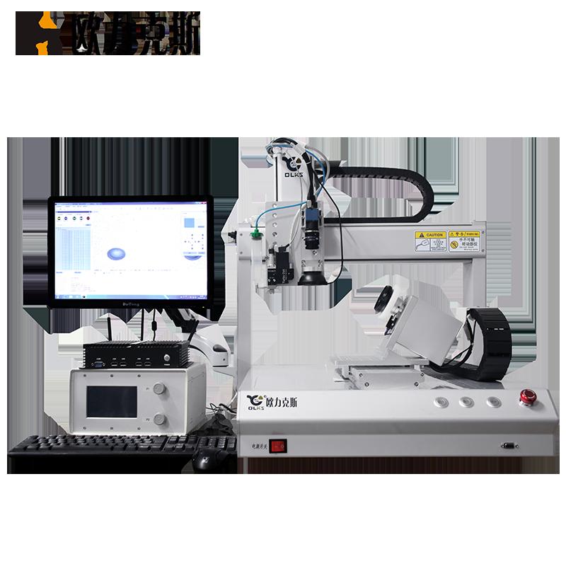 桌面式CCD視覺點膠(jiao)機